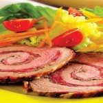 Veal roll with ham