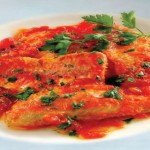 Red mullet in tomato sauce